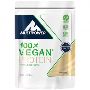 Multipower - 100% Vegan Protein, 450g Beutel