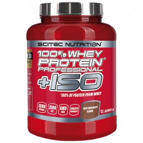 Scitec Nutrition - 100% Whey Protein Professional + ISO, 870g Dose