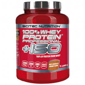 Scitec Nutrition - 100% Whey Protein Professional + ISO 2280g Dose