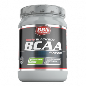 BBN Hardcore - BCAA Black Bol Powder, 450g Dose