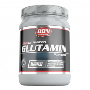 BBN Hardcore - Glutamin Powder, 550g Dose