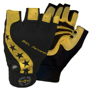 Scitec Nutrition - Handschuhe - Power Style Gelb