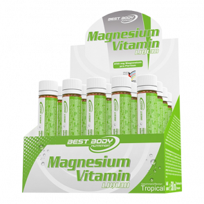 Best Body Nutrition - Magnesium Vitamin Ampullen, 20x25ml Ampullen
