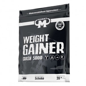 Mammut - Weight Gainer Crash 5000, 1400g Beutel