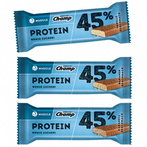 Champ - Protein bar 45%, 24 Riegel a 45g