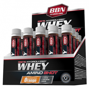 BBN Hardcore - Whey Amino Shot, 20 Ampullen a 25 ml