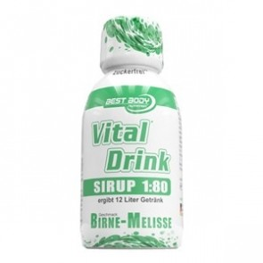 Best Body Nutrition - Vital Drink Sirup, 150ml Konzentrat