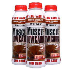 Weider - Muscle Low Carb Drink, 12x500ml