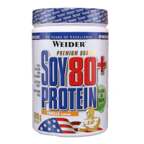 Weider - Soy 80+ Protein, 800g Dose