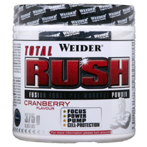 Weider - Total Rush, 375g Dose