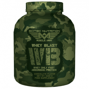 Scitec Nutrition - Muscle Army - Whey Blast, 2100 Dose