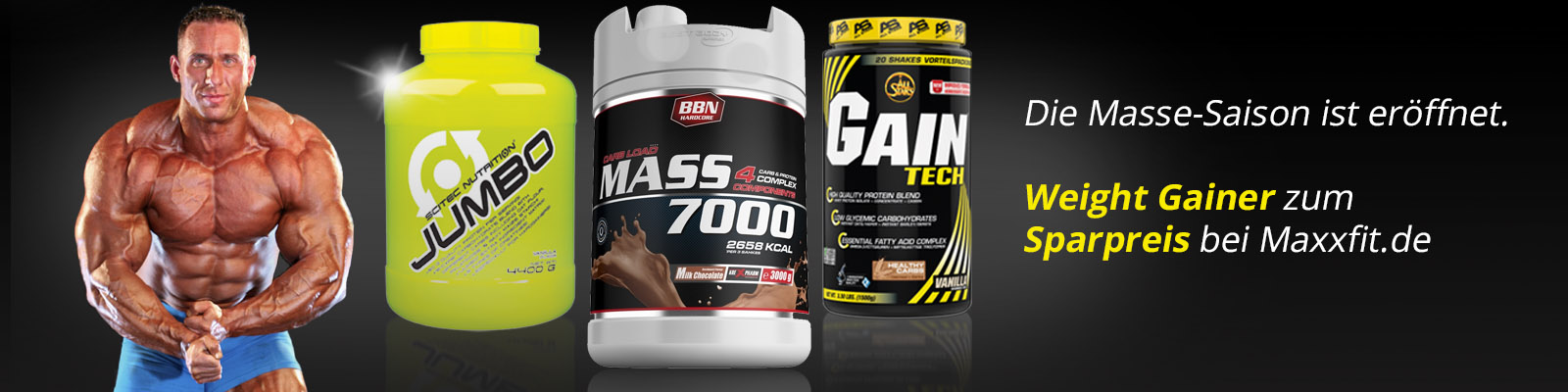 Weight Gainer günstig bei Maxxfit.de