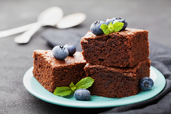 Protein Brownie Rezept
